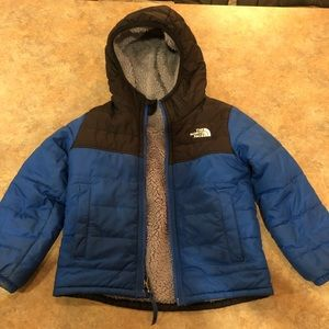 Reversible 4T North Face Coat
